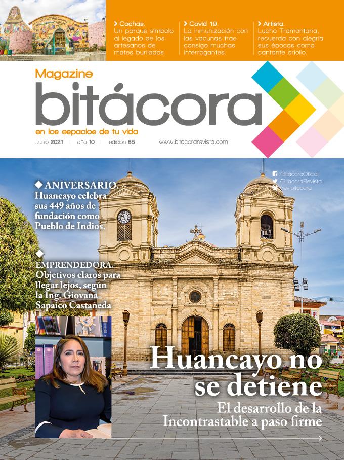 Portada Bitácora 85